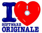 I Love Software Originale, campagna BSA per Image Time, Milano.